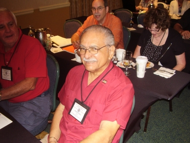 Thomas A. Lopez (Miami, Fl) has attended every AFSA Convention (except for 9/11 because the planes were not flying)